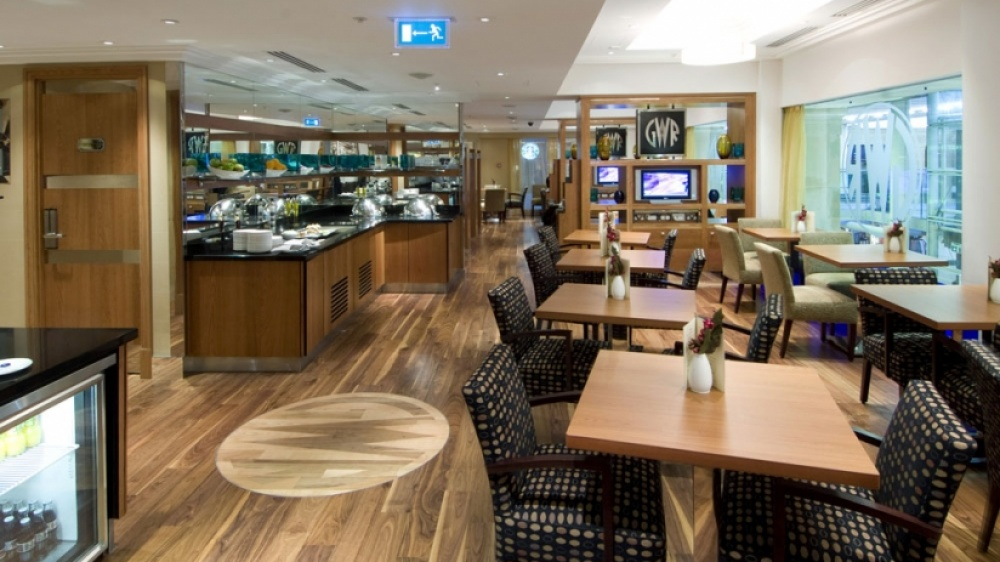 Hilton London Executive Lounge
