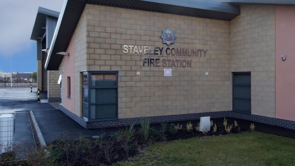 Staveley Fire Station
